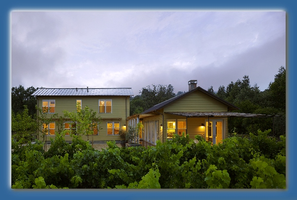 Award Winning, Published, Sonoma County Vineyard Home